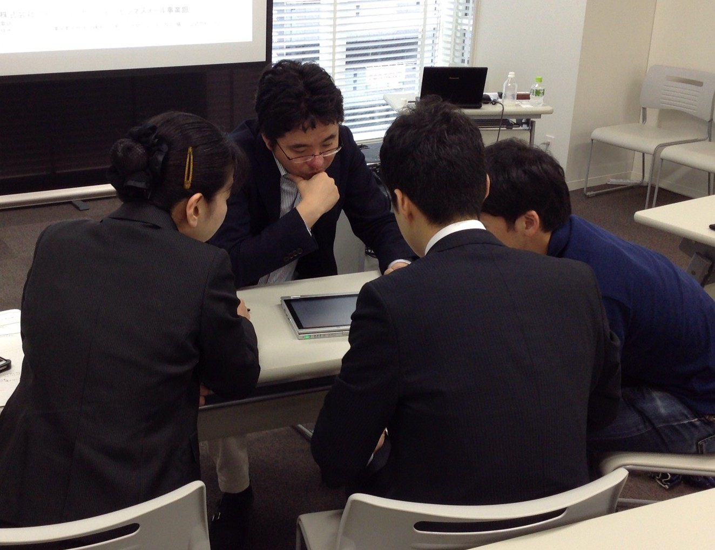 メール営業力強化プログラムの当日の写真